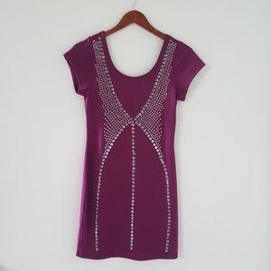💙SOLD💙 Dots Purple Dress